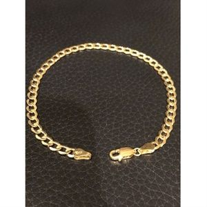 "Harlembling Men Miami Cuban Curb Link 8"" Bracelet"